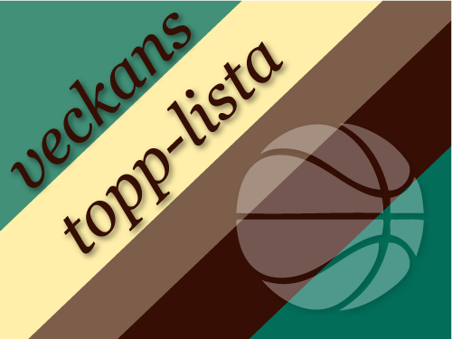 Veckans topp-10-lista
